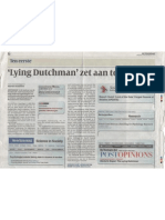 Lying Dutchman Zet Aan Tot Debat