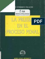 Palacio Lino - La Prueba en El Proceso Penal