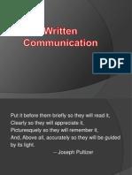 Written_Communication Unit -9