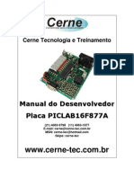 Manual Do Desenvolvedor - PICLAB16F877A
