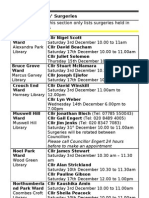 What's on in December in Haringey Libraries 2011