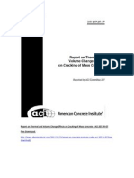 ACI 207.2R-07 Report on Thermal and Volume Change Effects on Cracking of Mass Concrete