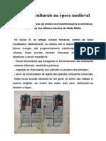 Aspectos Culturais Na Epoca Medieval