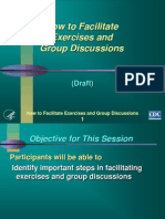 How to Facilitate Exercises and Group Discussions