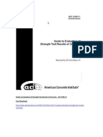ACI 214R-11 Guide to Evaluation of Strength Test Results of Concrete