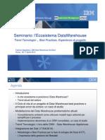 IBM DWH SEminario Roma 3