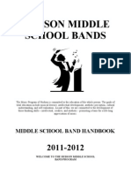 MS Band Handbook .2011.2012 Electronic Version