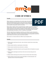 AMSA Code of Ethics