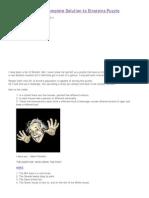 Einstein's Riddle _ Complete Solution to Einsteins Puzzle