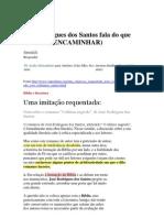 José Rodrigues dos Santos fala do que não sabe