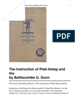 54398607 the Instruction of Ptah Hotep