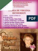 Virginia HendersonLISTO