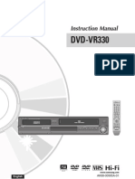 Samsung DVD VR330 Manual