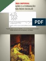 Educação e Escolas em Roma