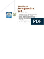 100% Natural Portuguese Sea Salt