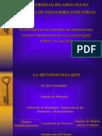 QFD - DISEÑO DE PRODUCTO