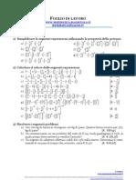 Esercitazione Sui Numeri Razionali