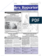 Daughters Are Not for Slaughter II by Prof. Vibhuti Patel, People's Reporter Vol. 24, Issue 20, 25 Oct.-10 Nov 2011