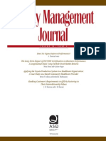 Quality Management Journal Oct 2007 VG
