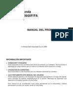 PoluxCriville Hornet CB600F FA K9 K10