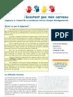 Les Dyspraxies - Pour Des Adaptations