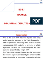 Chapter12(a).Labour Laws -Industrial Dispute Act