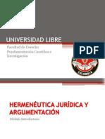 Clase 1 y 2 Hemenúetica y Argumentación