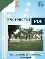Prospectus 2011-12 PEC