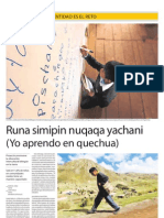 Proyecto Educativo y Cultural en el Perú