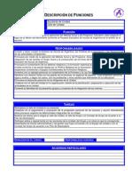 Descripción de Funciones - Ayudante de Unidad