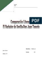 El burlador de Sevilla-Don Juan Tenorio