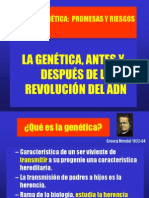 Genetica Antes y Despues Del Adn 18 Octubre 2010
