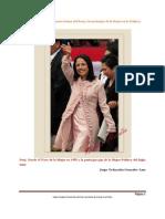 Dos Mujeres Michelle Obama y Nadine Heredia y La Inclusion de La Mujer en el Siglo XXI