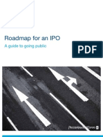 Roadmap for an Ipo a Guide to Going Public