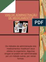 Aula 6 - Vias de administração de medicamentos (1)