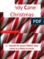 Candy Cane powerpoint Recitation