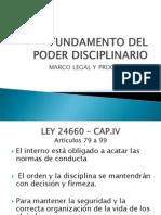 Fund Amen To Del Poder Disciplinario Compatible Con Word97