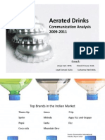 Aerated Drinks- Communication Analysis-1