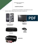 Introduccion a La Computacion