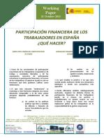 PARTICIPACIÓN FINANCIERA DE LOS TRABAJADORES EN ESPAÑA. ¿QUÉ HACER? - EMPLOYEE FINANCIAL PARTICIPATION IN SPAIN (spanish) - LANGILEEN FINANTZ PARTE-HARTZEA ESPAINIAN (espainieraz)