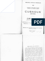 Núñez - Cubagua, tercera edición (Caracas