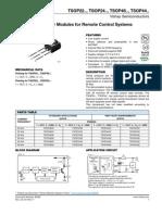 Receptor IR TSOP4836