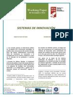SISTEMAS DE INNOVACION - INNOVATION SYSTEMS (spanish) - BERRIKUNTZA SISTEMAK (espainieraz)