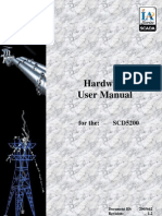 SCD5200 Hardware User Manual