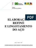 Elaboracao Refino to Do Aco