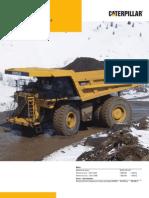 camion minero 785 D  español