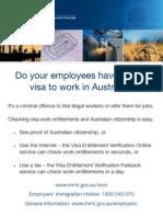 Poster Valid Visa