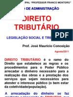 1 - DIREITO TRIBUTÁRIO - Introdução