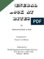 Muhammad Baqir as-Sadr - A General Look at Rites