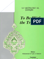 Mohammad Tijani Smaoui - To Be With the Truthful